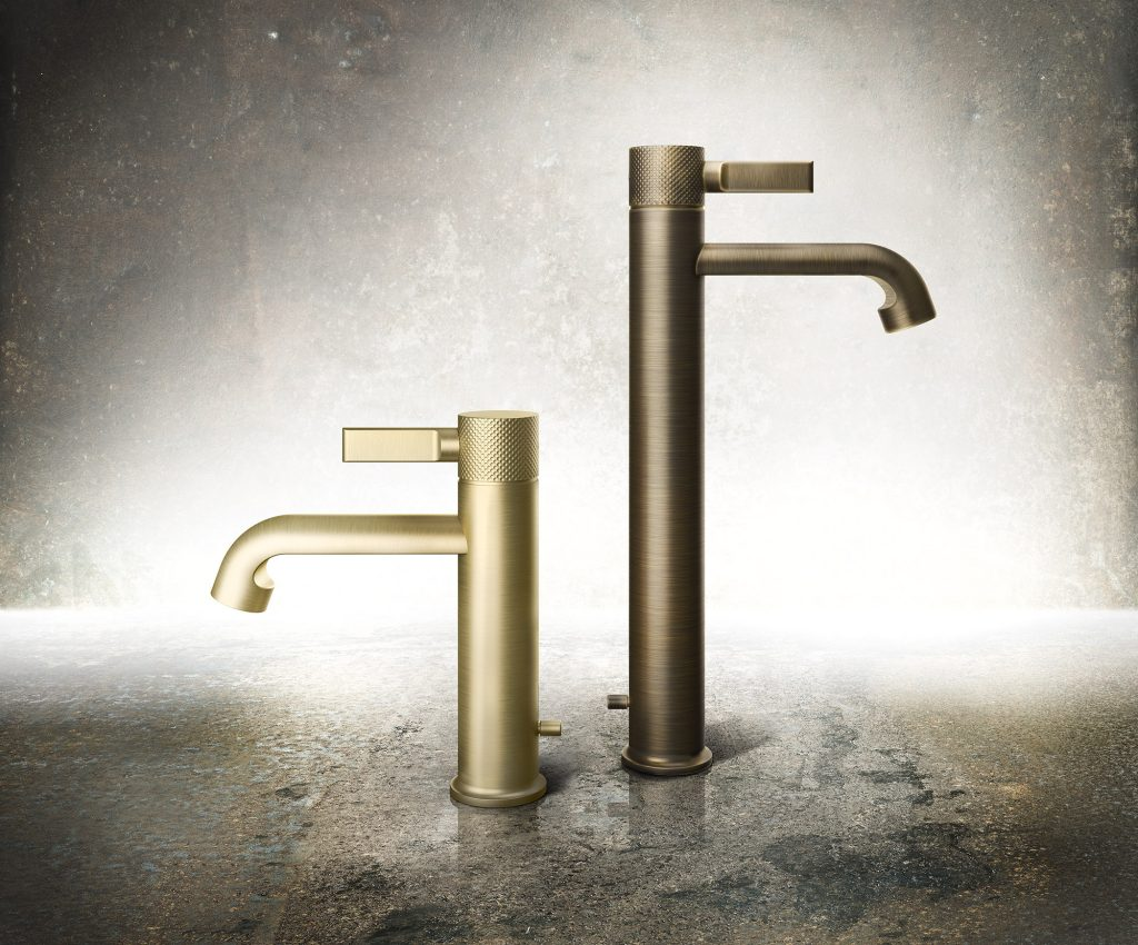 Inciso by Gessi taps