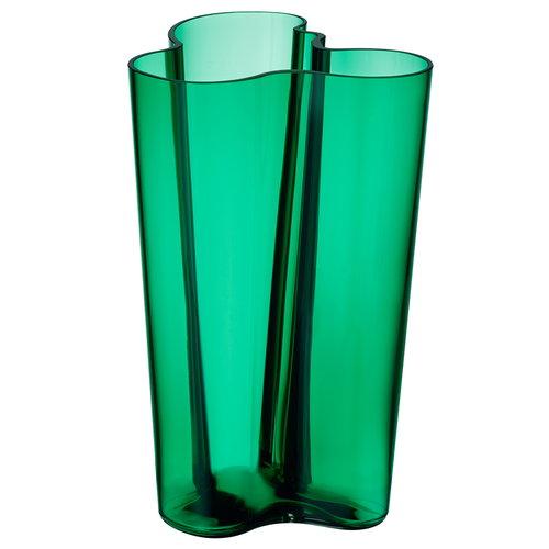 Aalto vase Iittala in green