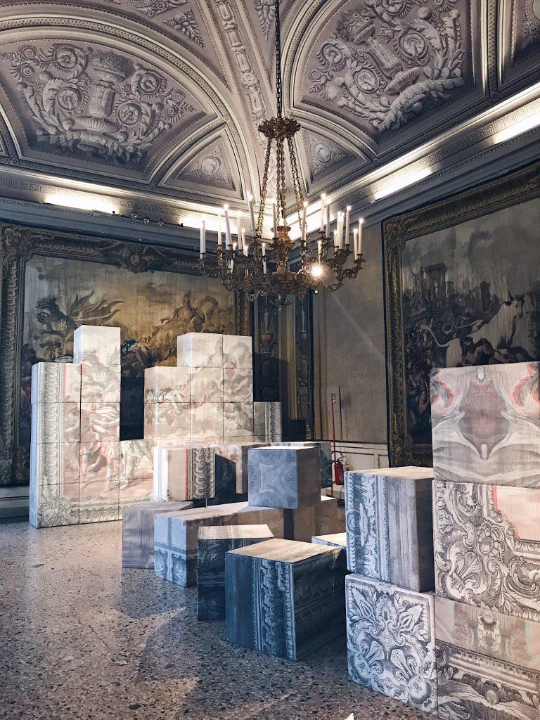 De/Coding Alcantara in the Tapestry Rooms Milan Design Week 2019 Sabine Marcelis