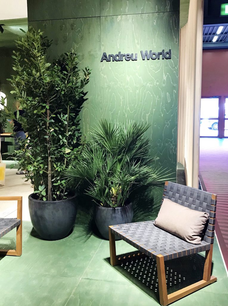 Andreu World Serena Teak chair