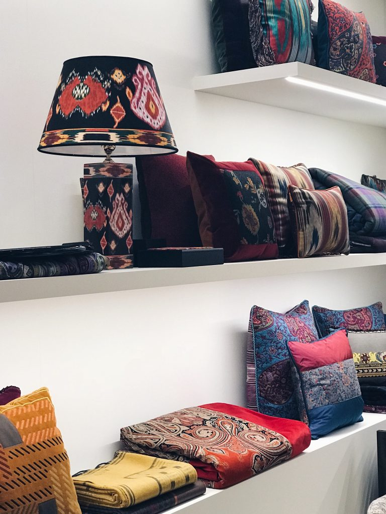 Etro Home Collection 2018 fabrics
