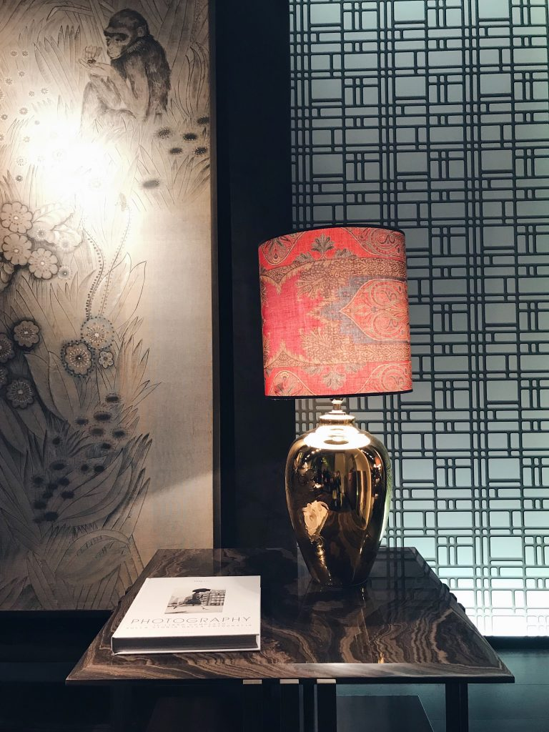 Etro Home Collection 2018 Paisley prints the McKenzie lamp