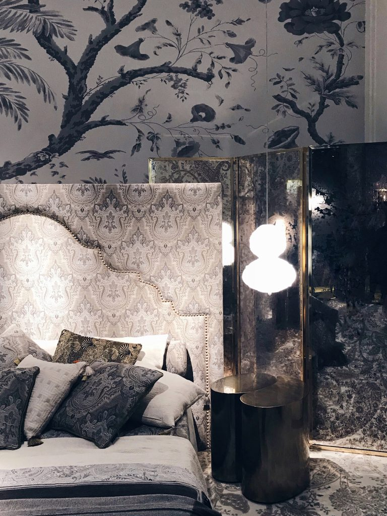 Etro Home Collection 2018 the bedroom