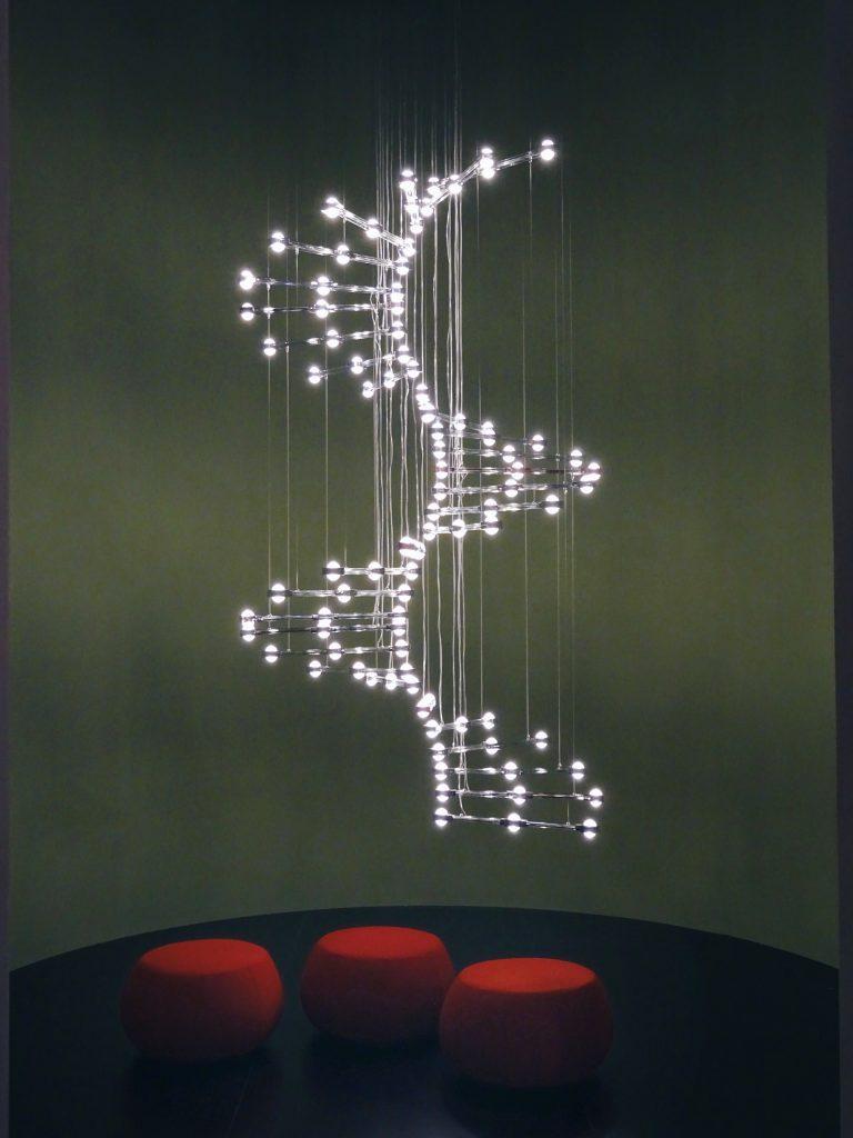 Raquam P4 chandelier by Masiero