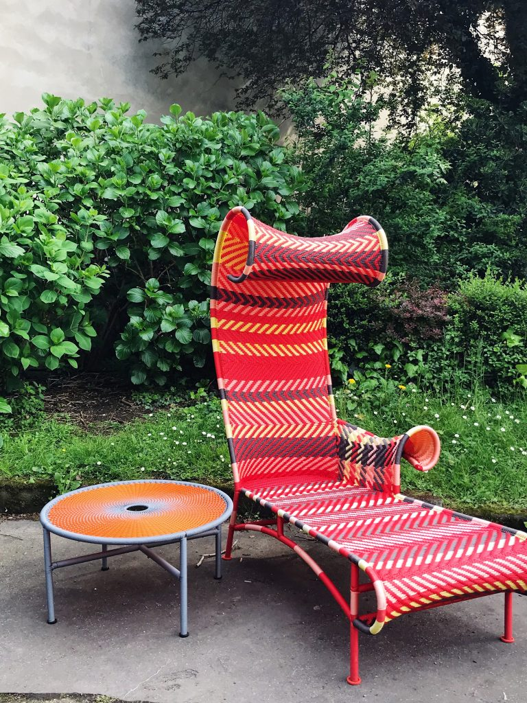 Shadowy chaise longue by Tord Boontje for Moroso outdoor furniture trends