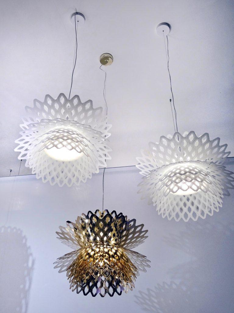 Slamp Desert Rose lamps Fuksas