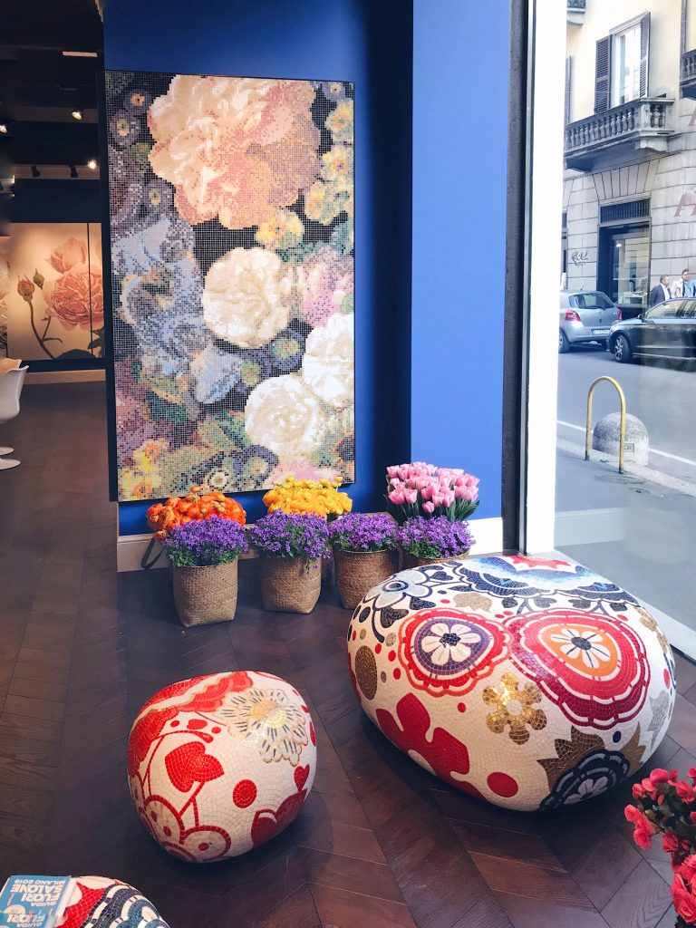 Bisazza Pebbles Marcel Wanders Brera Design District