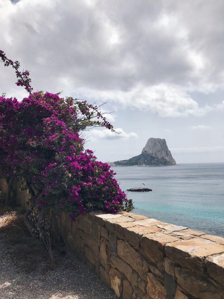 Calpe clifftop path