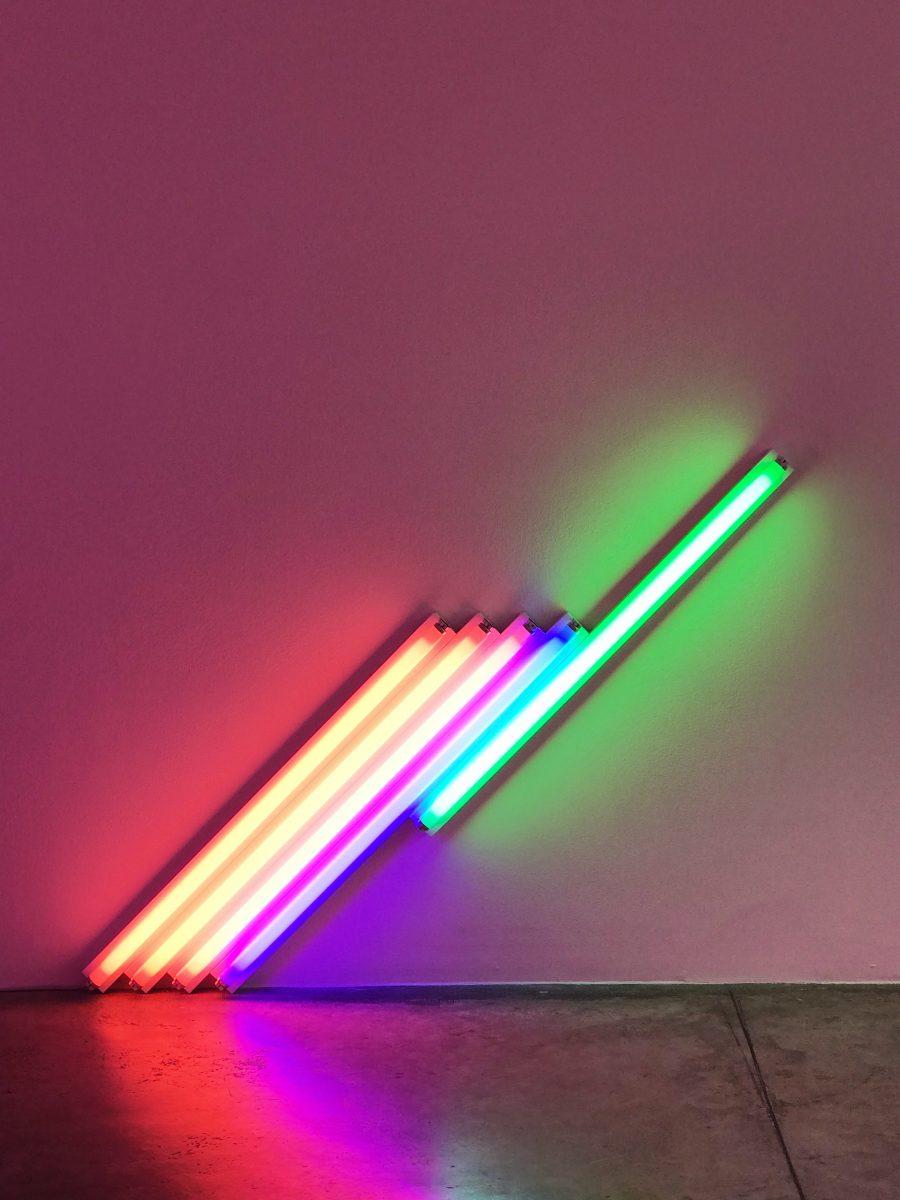 Dan Flavin Cardi Gallery Milano