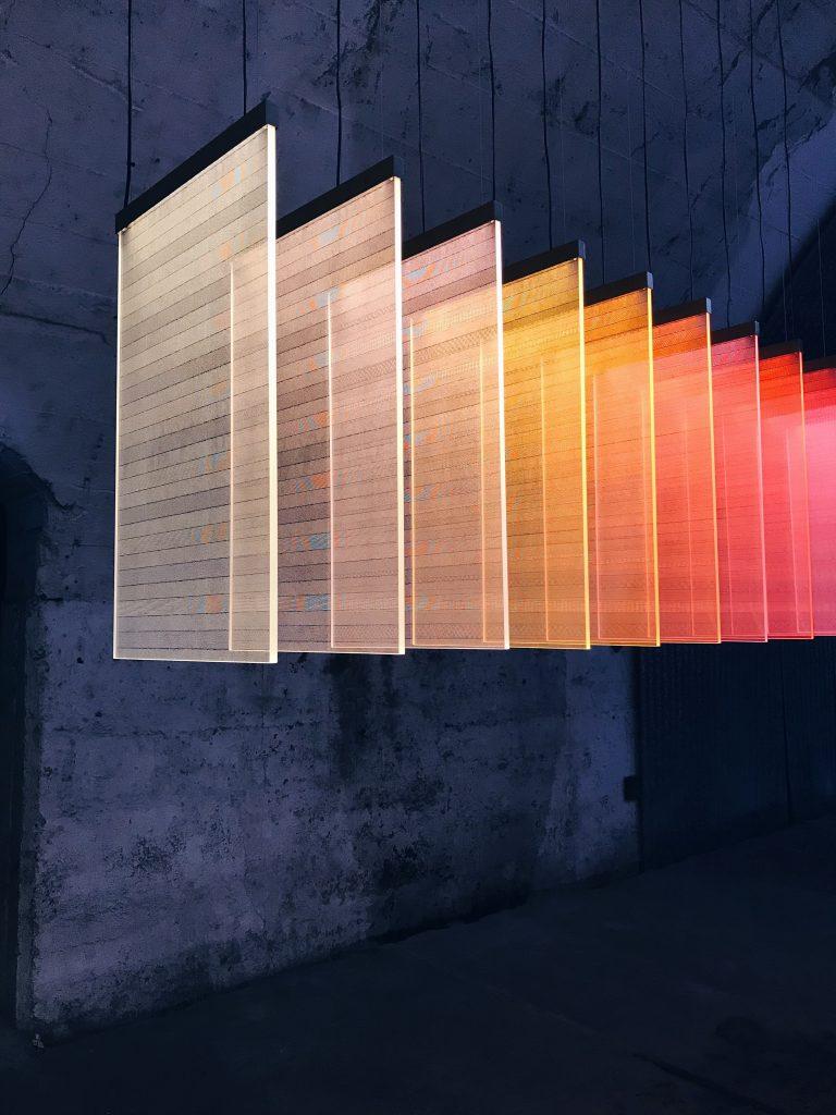 DNP Patterns of Time Ventura Centrale 2019 Milan Design Week