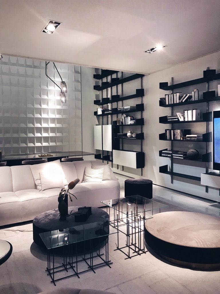 The Brera shelving system by Massimo Castagna for Gallotti & Radice luxury interior design trends