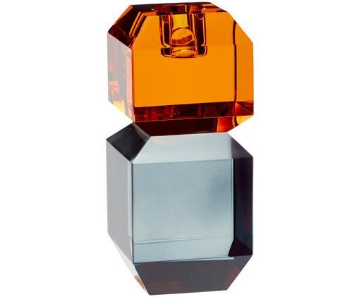 Amber candlestick by Hubsch interiors