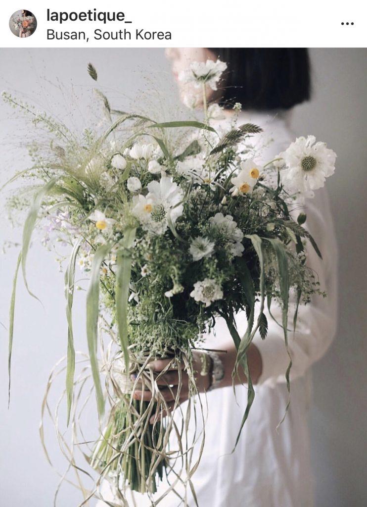 La poétique flower studio Instagram