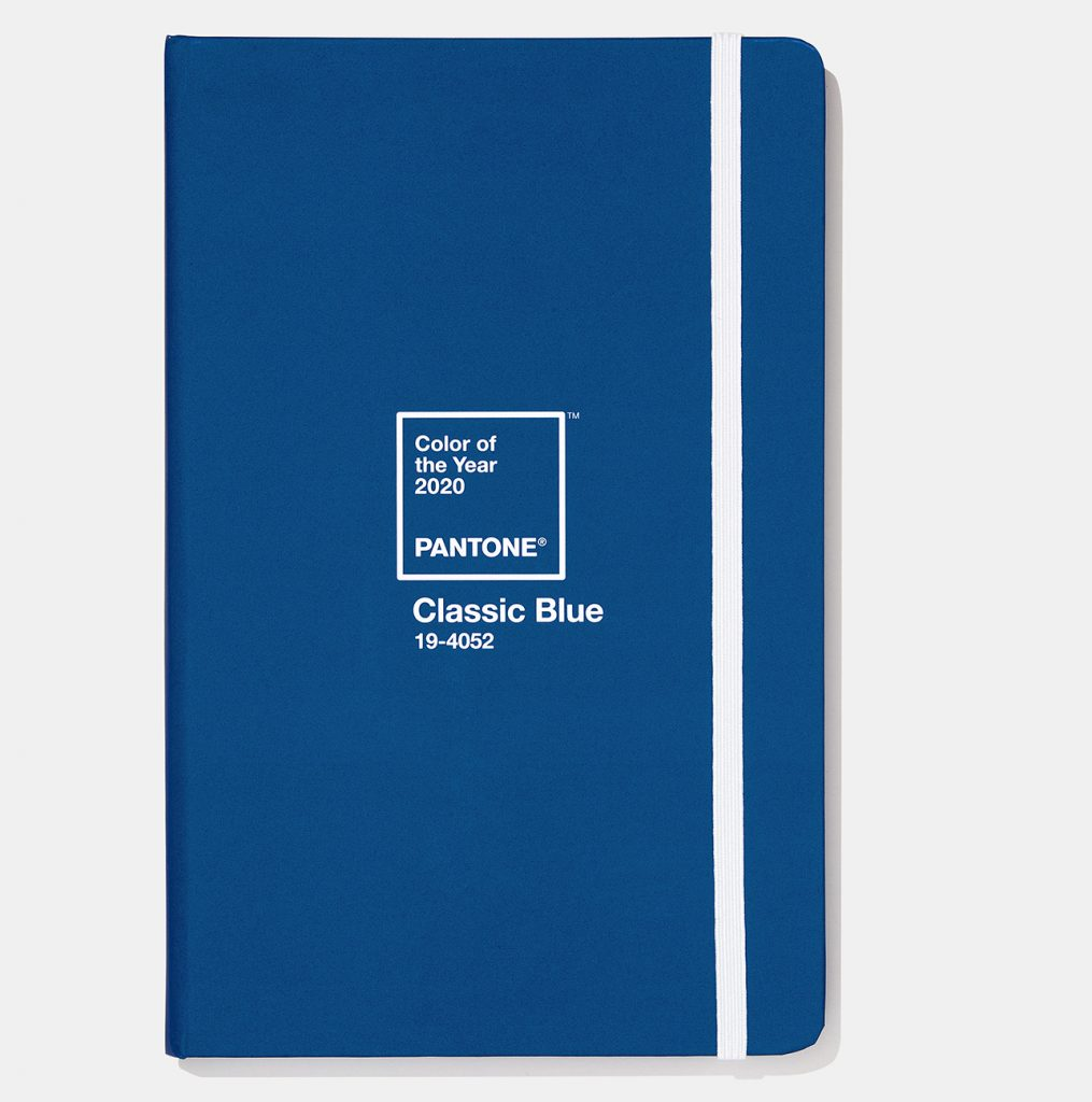 Pantone 2020 classic blue limited edition journal