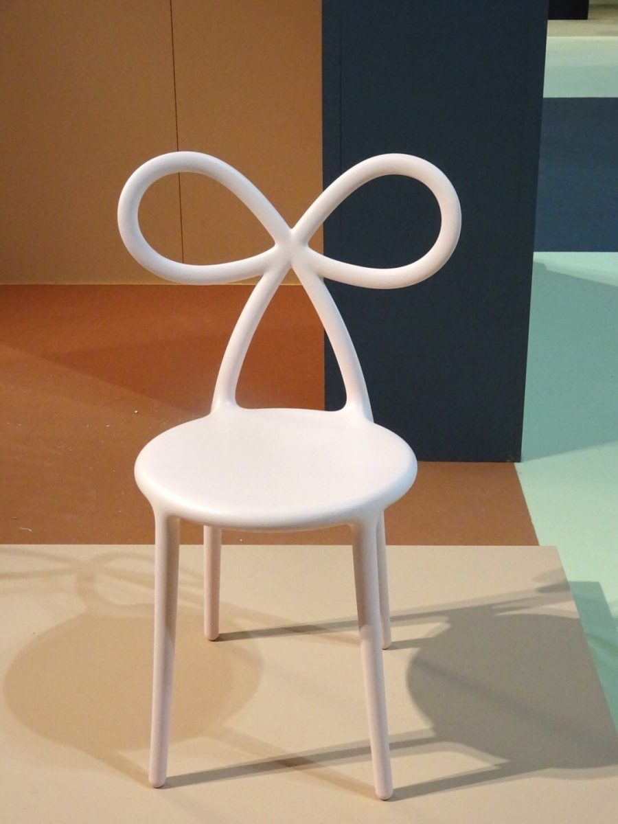 The Ribbon chair by Nika Zupanc for Queeboo