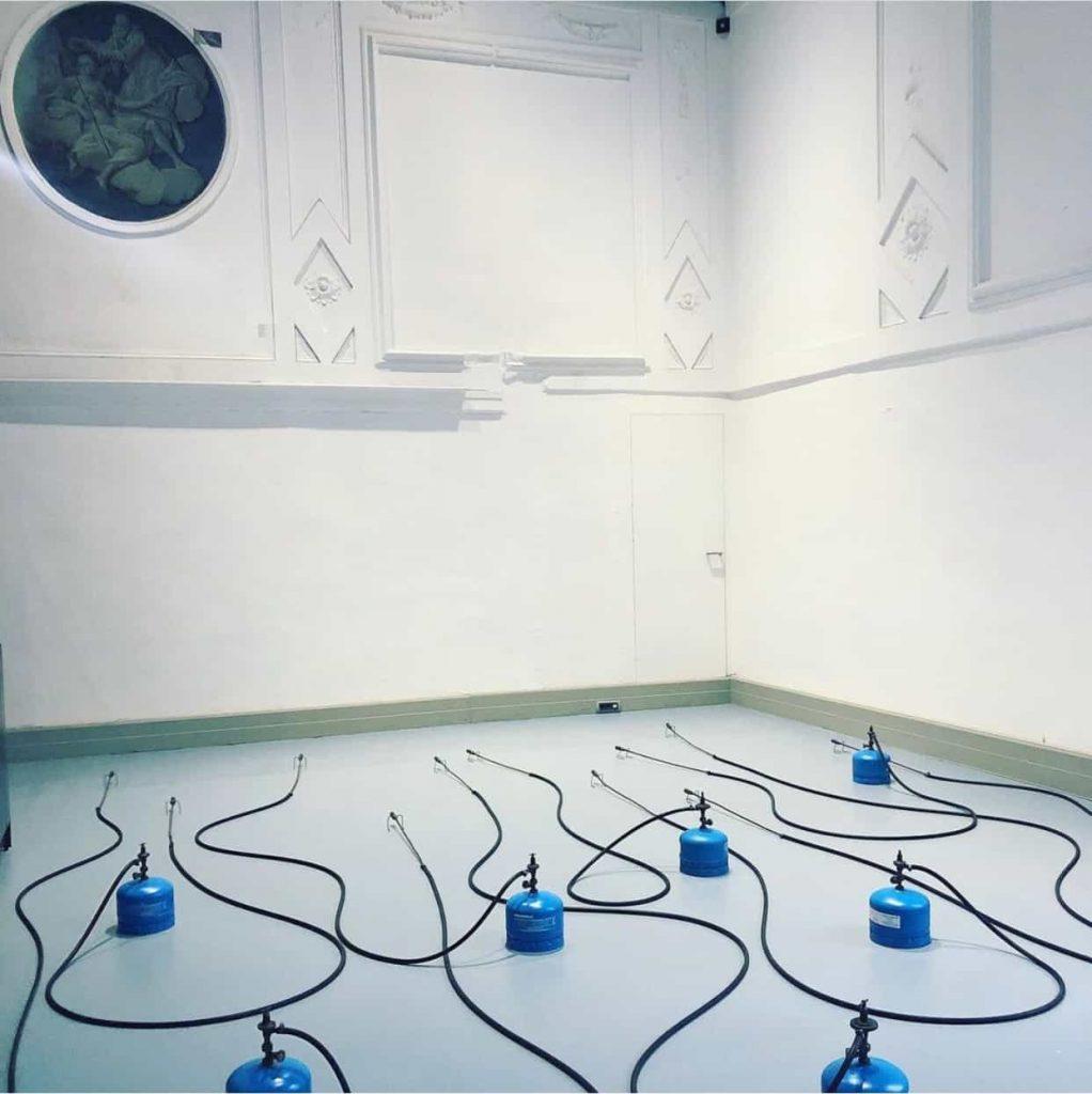 Jannis Kounellis Fondazione Prada Venezia