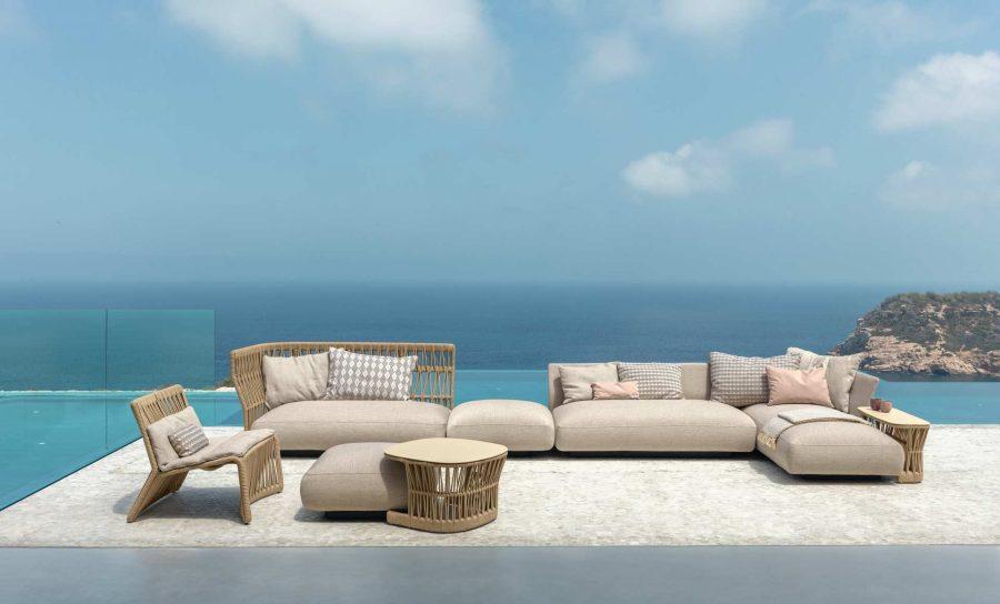 Modern Italian outdoor furniture by Talenti