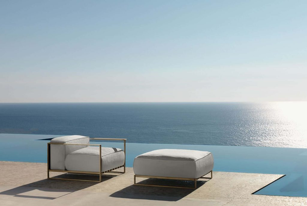 modern Italian outdoor furniture Casilda collection Talenti